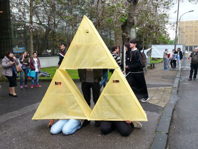 Comicon o Cuozzicon? Origamicon!