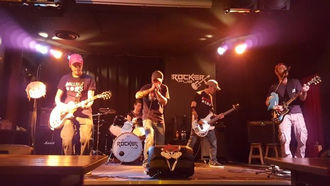 Ecco gli scatti LIVE rubati al The RockerPub